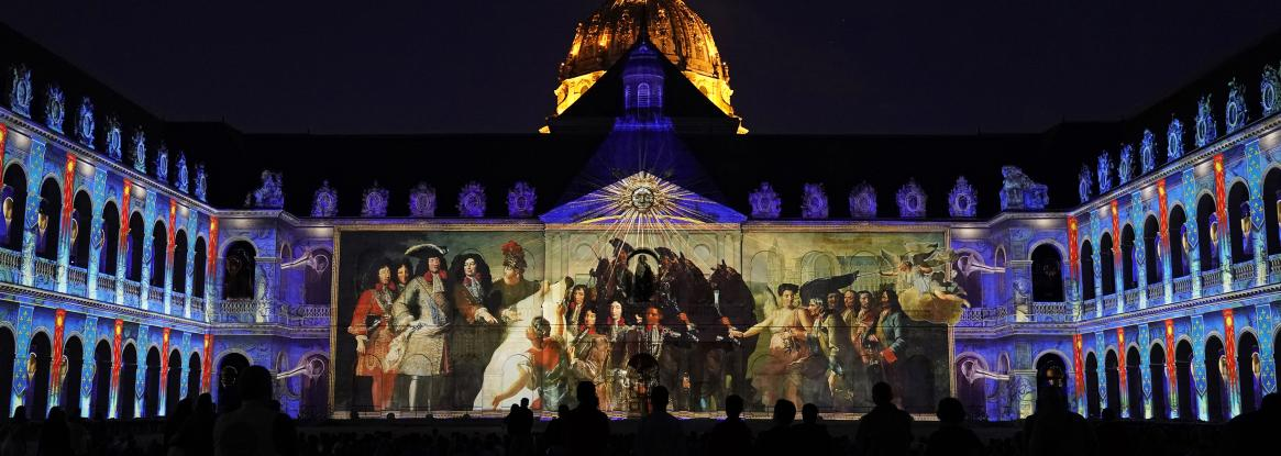 Night at the Invalides; an enchanted evening